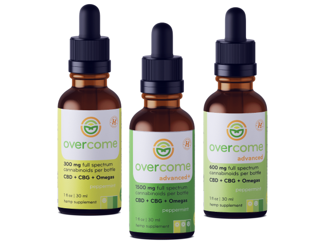 Overcome-CBD-CBG-hemp-oil-tinctures