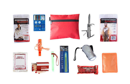 Survival Mini - Emergency Survival Kit  - Qty 10