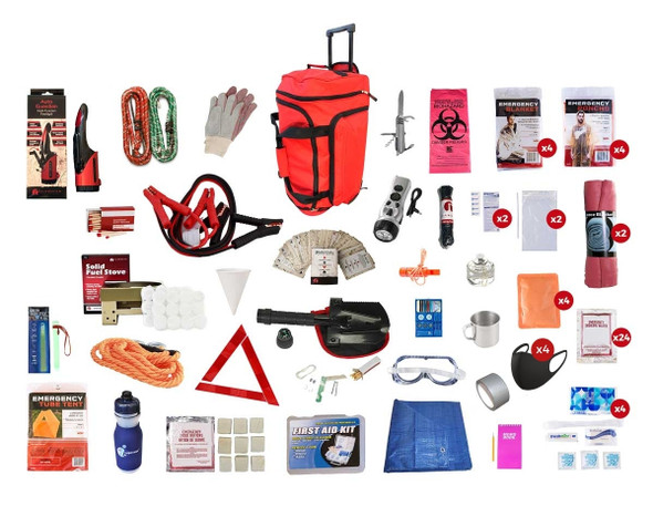 Family Road Kit - Red