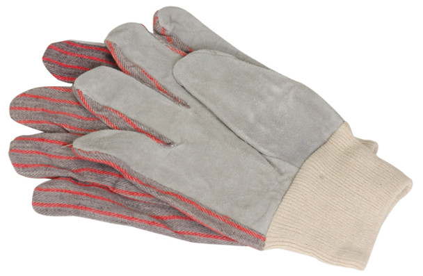 Leather Palm Work Gloves