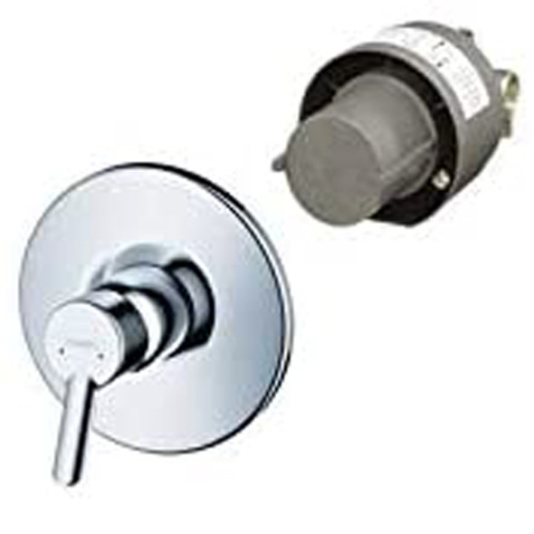 Hansgrohe Focus S Single Lever Bath or Shower Mixer Set Chrome Plated 31764000