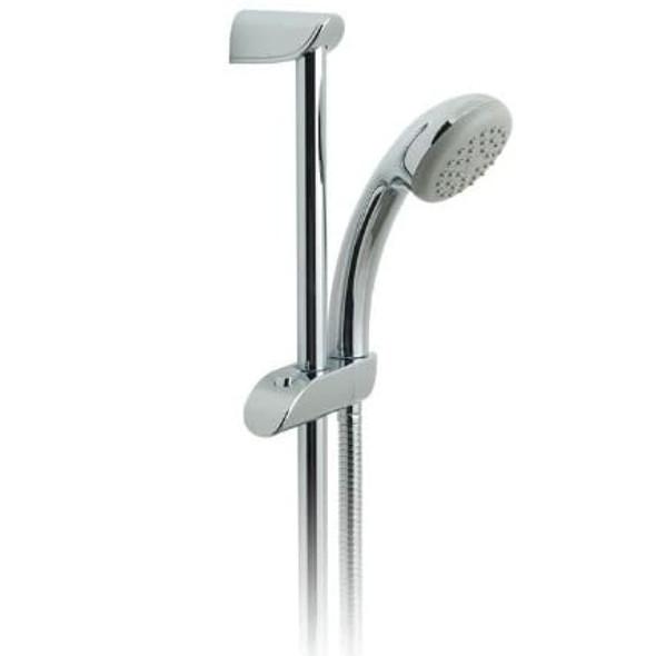 Vado Single Function Shower Kit with 600mm Slide Rail LP Chrome Plated   WG-AKIT600-C/P