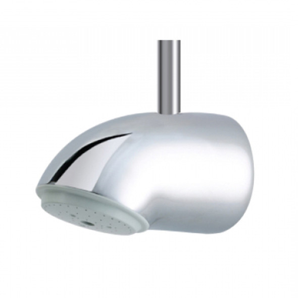 Rada VR125 Vandal Resistant Shower Head with 15mm Fitting for Falling Pipework Supply   1.0.098.81.1