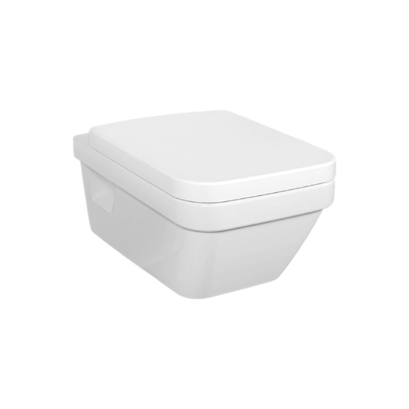 V&B Omnia Architectura 370 x 530mm Square Front Wall Hung Pan White   5685.10.01