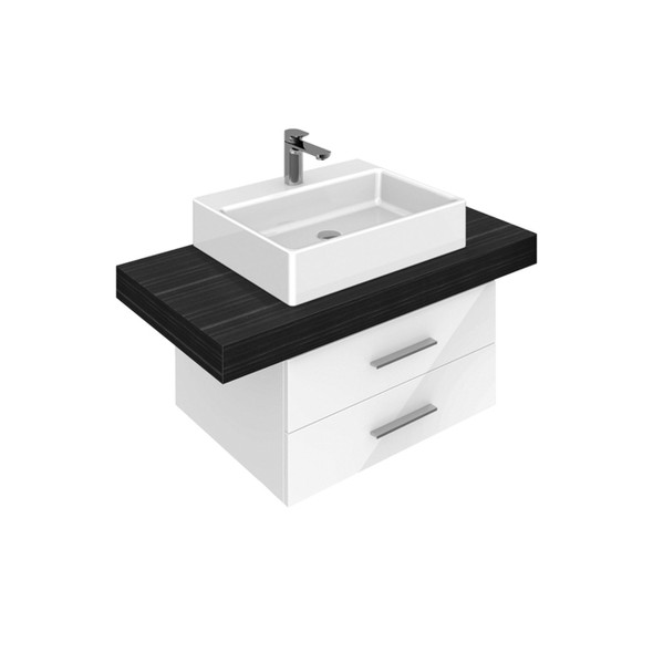 V&B Memento Surface-Mounted Basin 1TH 600x420mm White - 5135.60.01