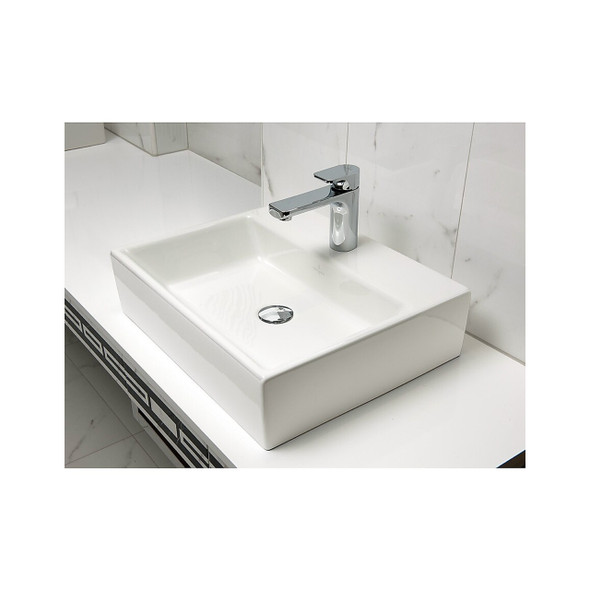 V&B Memento Surface-mounted Basin 1TH 500x420mm White 5135.50.01