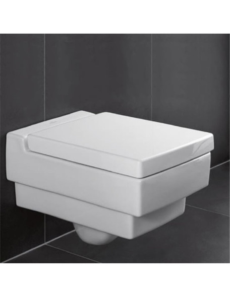 Villeroy & Boch Memento Wall Hung Pan ONLY Glossy Star White with Ceramic Plus 5628.10.R2