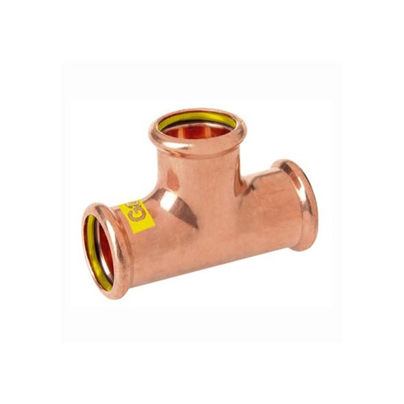 M-PRESS Copper-Gas Press 54mm x 54mm x 54mm Tee 90° 79100545454