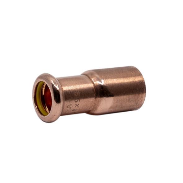 M-PRESS Copper-Gas Press 42mm x 22mm M x F Straight Fitting Reducer 794304222