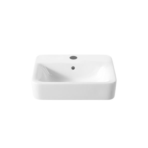 Roca Senso Square 1TH White Basin 450 x 440mm    32751T000