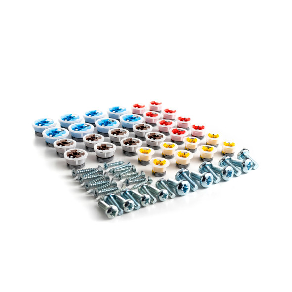 GripIt Assorted Starter Kit of 32 Fixings with Relevant Screws and Bolts   GASSORTKIT