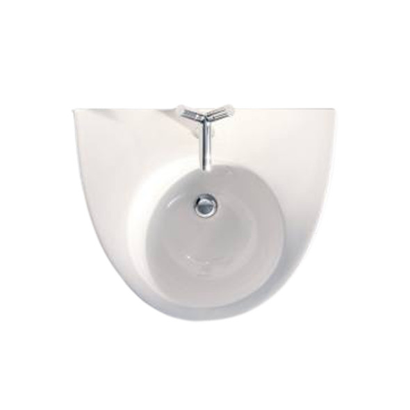 Duravit Starck 2 1TH White Basin and Fixings 650 x 510mm 411650000