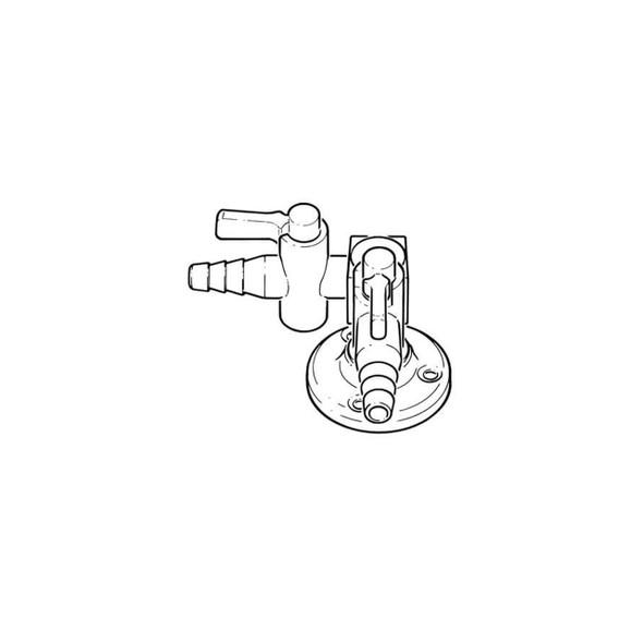 "Lab Bench Rigid Lever Multi-Tap - 1/4"" BSP TF 2 Way 19046"