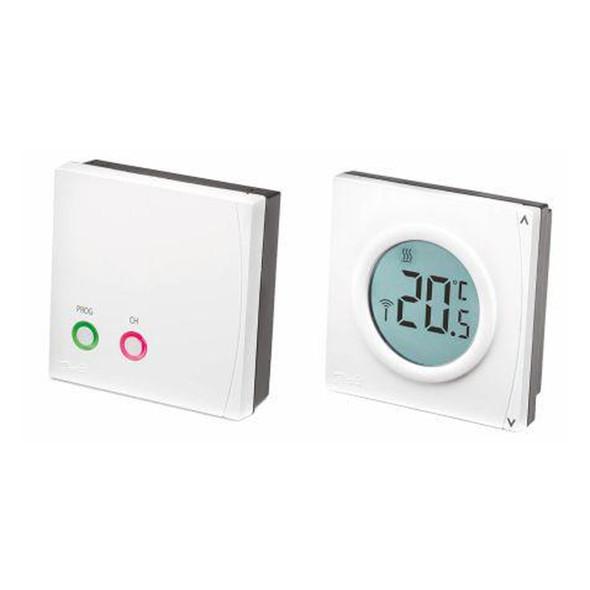 Danfoss RET2000B- RF  Digital Room Thermostat and RX1-S  087N644400