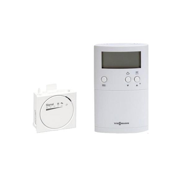 Viessmann Vitotrol UTDB-RF2 Digital Wireless 2 Channel Programmable Room Stat for 050-W Only      7543788