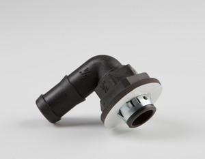 """3/4"""" Barbed Snap-In Fitting - 90 degree"""