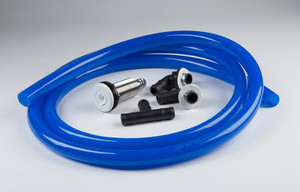 Snap-In FFU Kit/Long Powder Coated Stainless Steel Port