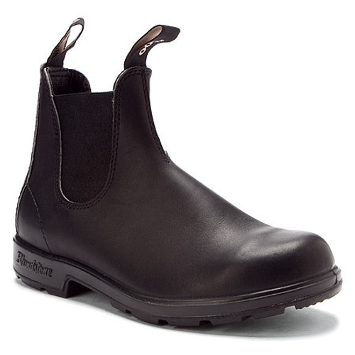 Black pull on boot by Blundstone.