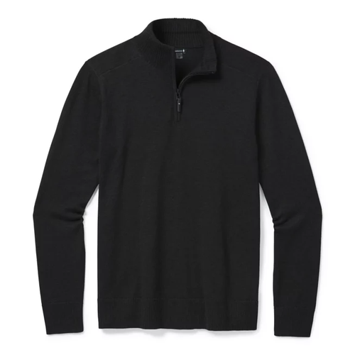 Smartwool Men's Sparwood Half Zip Sweater - Charcoal Heather
