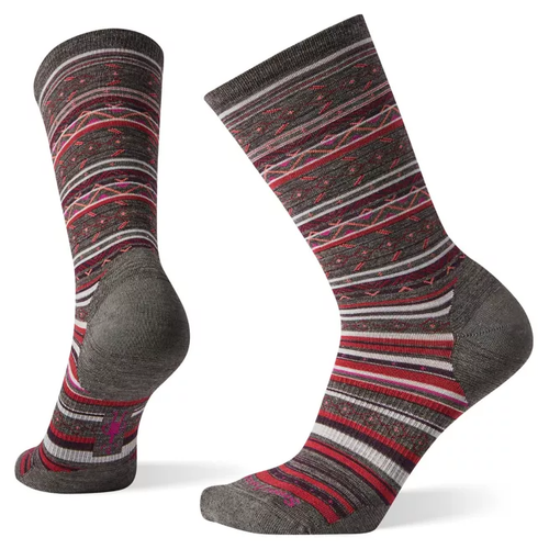 Smartwool Women's Ethno Graphic - Taupe