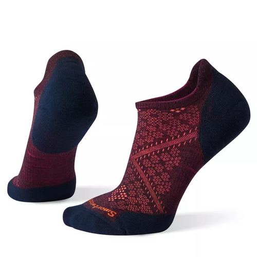 Smartwool PhD Run Light Elite Micro - Bordeaux/ Deep Navy
