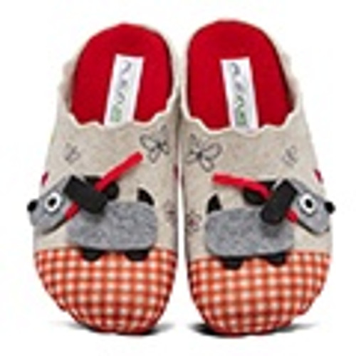 Spring Step Women's Frolick - Red Multi Wool