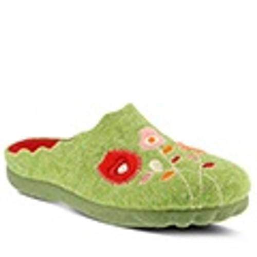 Spring Step Women's Wildflower - Green Wool