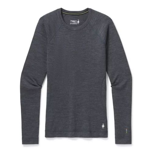 Medium Gray Merino wool baselayer by Smartwool.