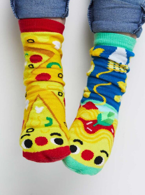 Pals Children's Socks - Pizza & Pasta
