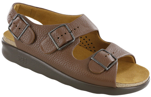 Amber super soft classic sandal with adjustable straps by Sas.