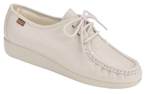 Bone classic casual lace up by Sas.