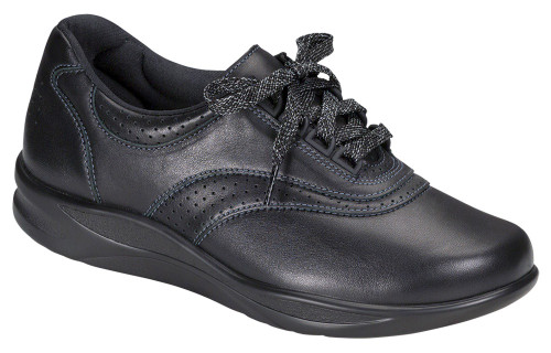 Black  casual lace up with S motion technology by Sas.