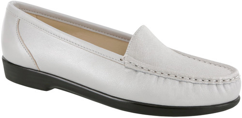 Silver cloud classic moccasin loafer by Sas.