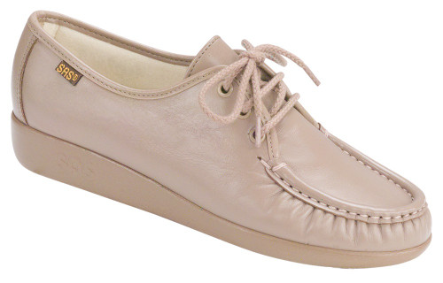 Mocha classic casual lace up by Sas.