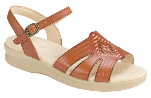 Antique Tan Huarache sandal by Sas.