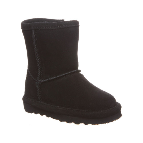 Black zip classic suede boot by Bearpaw.