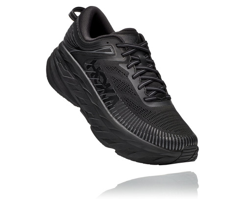 Hoka One One Men's Bondi 7 X-Wide - Black/Black