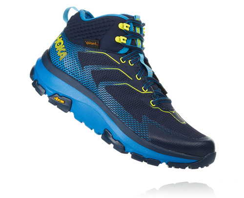 Hoka One One Men's Sky Toa - Black Iris/Blue