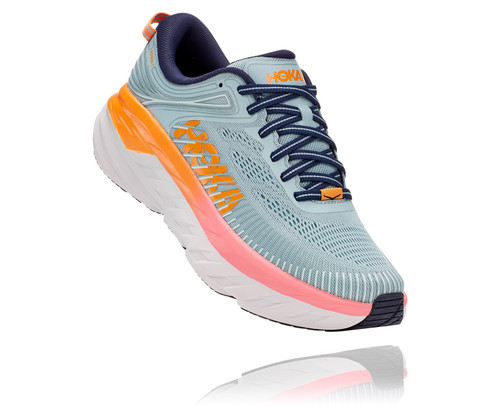 Hoka One One Women's Bondi 7 - Blue Haze/Black Iris