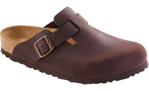Birkenstock Boston Soft Footbed - Habana Oiled Leather