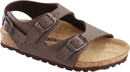 Roma children's sandal with cork footbed by Birkenstock.