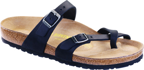 Birkenstock Mayari - Black Oiled Leather