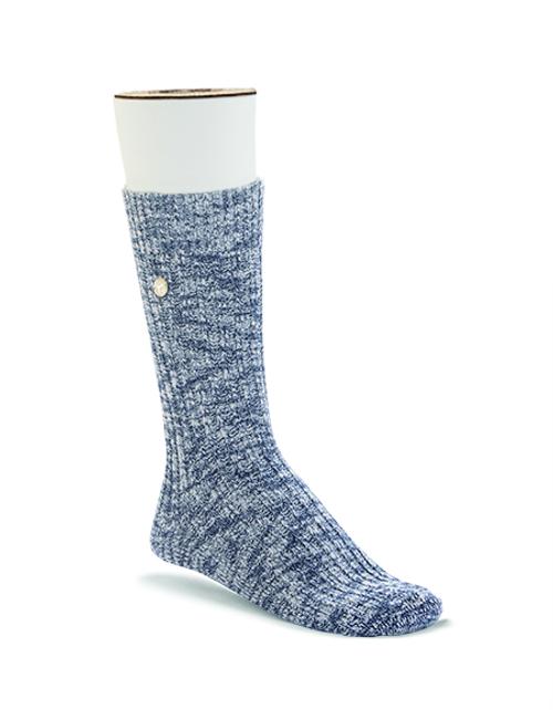 Birkenstock Slub Sock - Blue