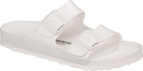 White EVA sandal by Birkenstock.