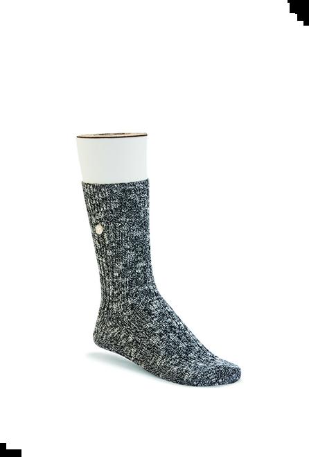 Birkenstock Slub Sock - Black