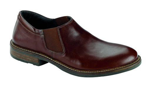 Brown Casual Dress Slip on with cork footbed.