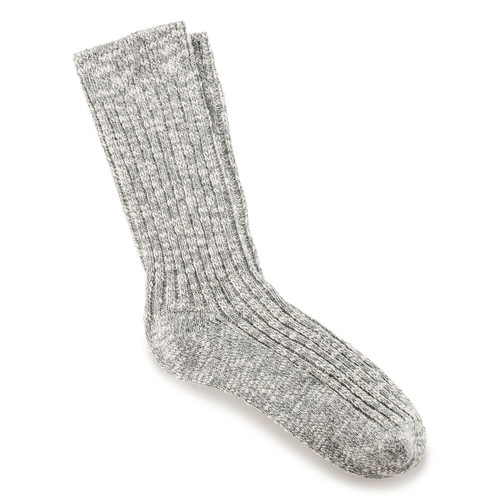 Birkenstock Men's Slub Sock - Grey