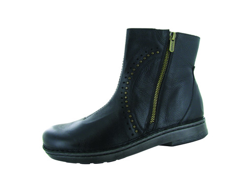 Naot Women's Cetona - Soft Black Leather