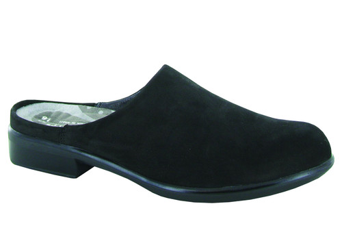 Naot Women's Lodos - Black Velvet Nubuck