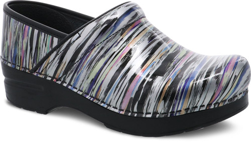 Dansko Women's Professional - Striped Patent